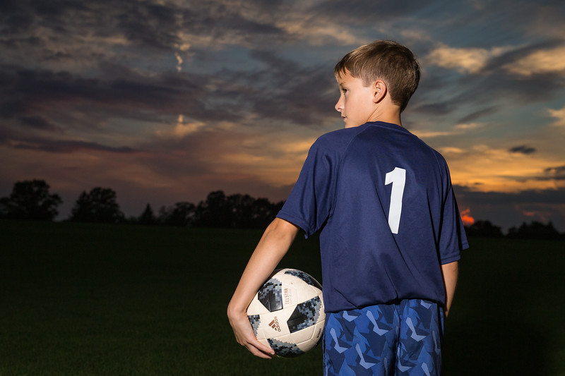 Youth Soccer Portraits