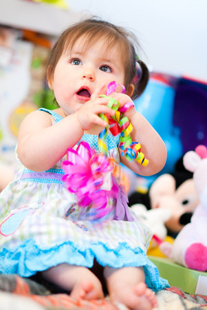 Alivia's First Birthday, March 29, 2012