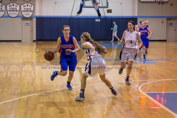 HHA V Girls vs Laurens Academy 2-23-17