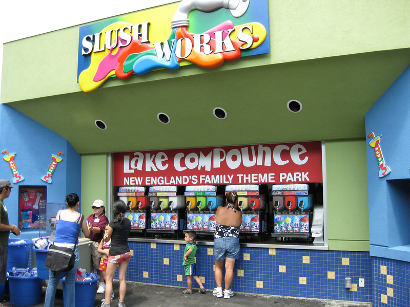 The Slush Works concession opened later in the day.