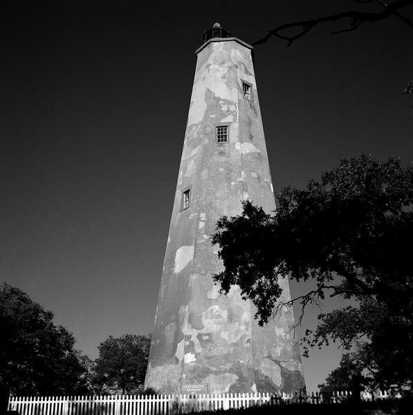Old Baldy Lighthouse, Bald Head Island, NC. November 2000