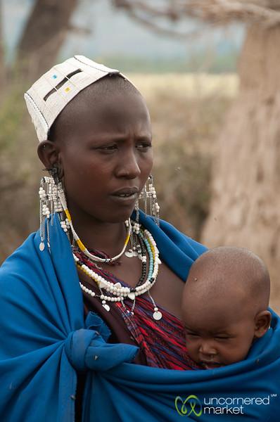 Masai Mother and Child - Lake Manyara, Tanzania