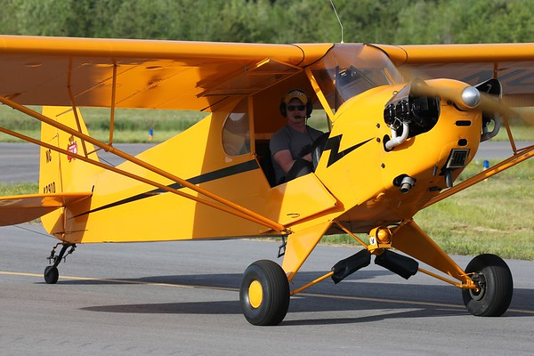 "1945 Piper J3C-65 ""Cub"", Norfolk, 04May18"