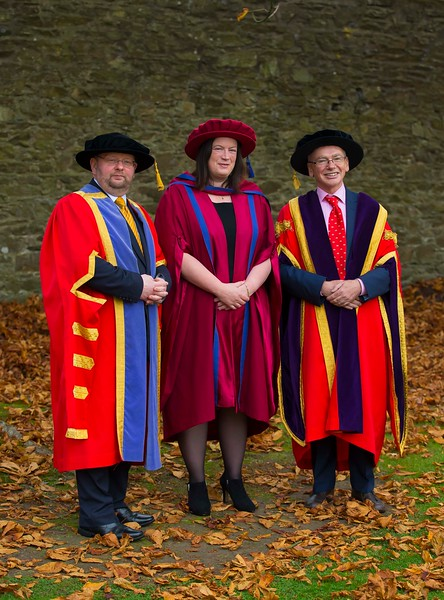 03/11/2016. Waterford Institute of Technology (WIT) Conferring Ceremonies November 2016.  Pictured is Aisling Tuite who was conferred a PhD. Picture: Patrick Browne