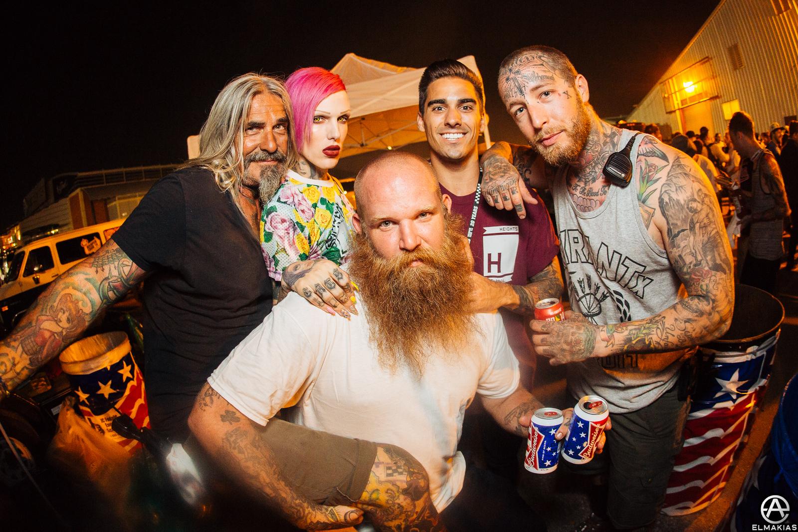 Warped Tour homies