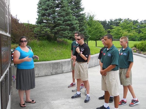 Interactive History Visits D-Day Memorial