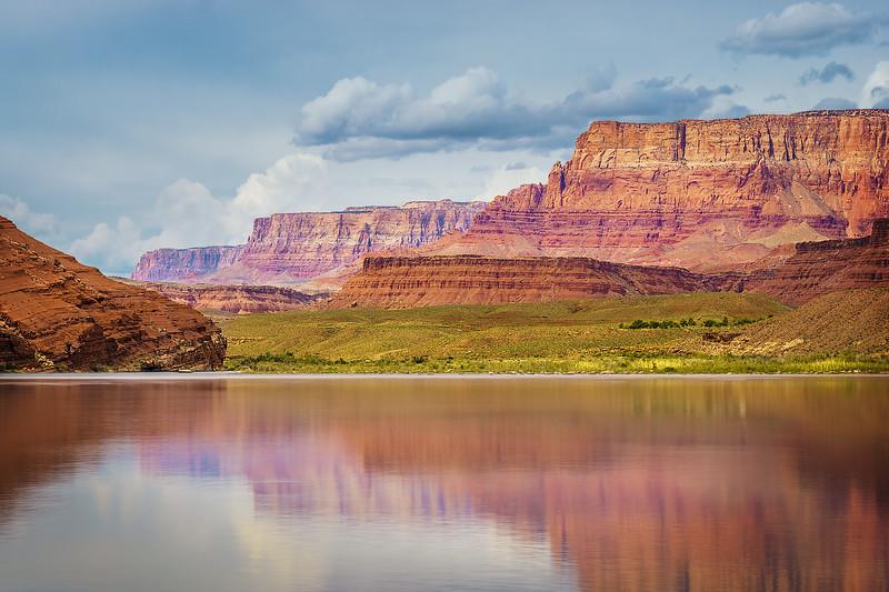 Colorado River Reflections at Lees Ferry (Arizona)