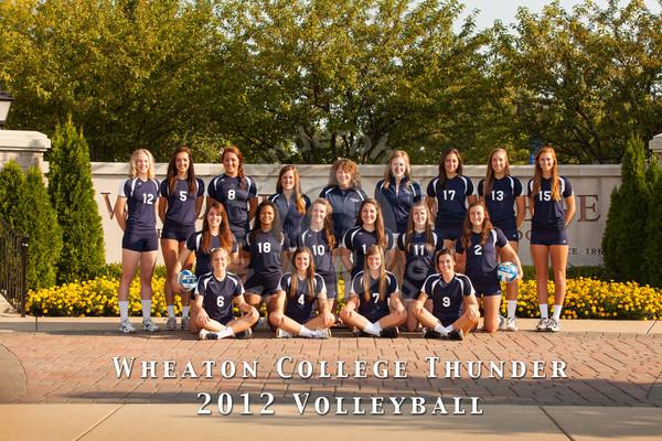 Wheaton College 2012 Volleyball Team