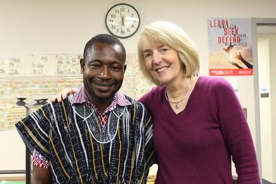 Emmanuel Ofosu Yeboah's Visit