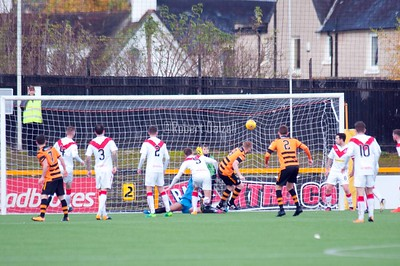 Alloa Athletic v Airdrieonians 4 11 17