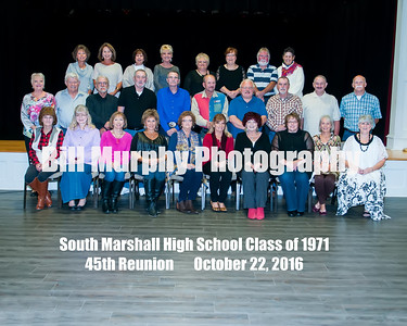 2016 South Marshall High School Class Of 1971 Reunion.
