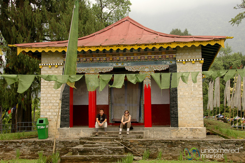 Resting at Dubdi Gompa Outside of Yuksom, Sikkim