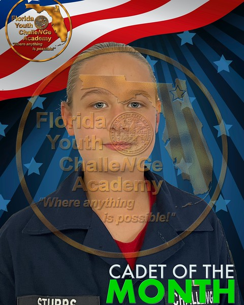 11. Cadet of the Month