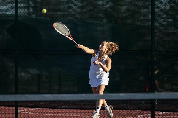 CC Girls Tennis vs Crawfordsville 2016-4-13