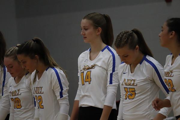 '19 NDCL Varsity Volleyball vs. Lake