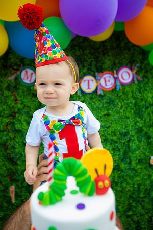 Matteo's 1st Birthday