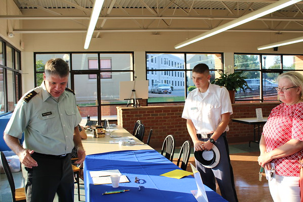 Cadet Leaders Arrive on Campus to Check-In