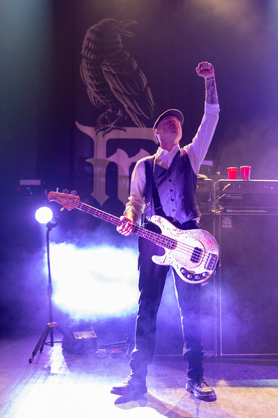 2019 March 8, Flogging Molly - Fillmore Detroit: Joe Alcodray