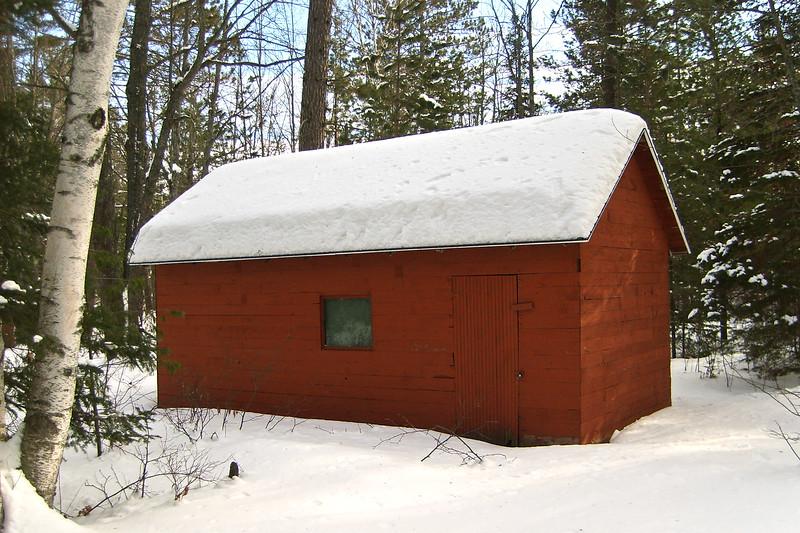 Garage in Winter | Photo courtesy of Mike Anttonen