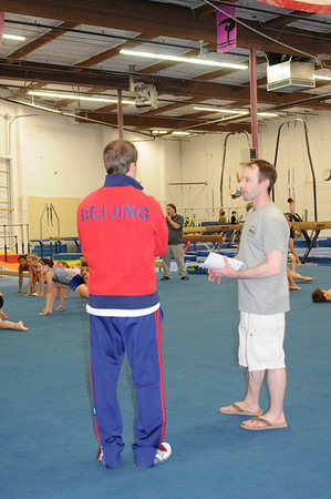 Paul Hamm visits the Gym! - 2008