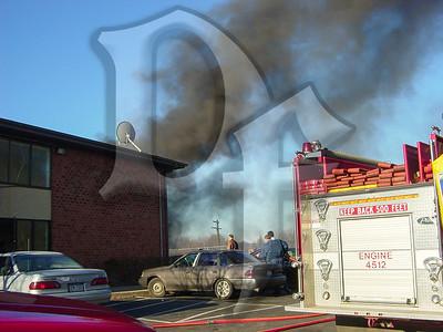 Car Fire - Gates, NY 11/9/03