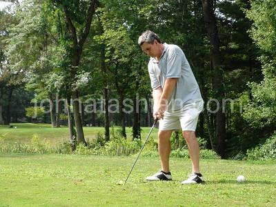 Mike Devitt Golfing - August 19, 2011