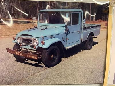(SOLD) 1965 FJ45 Blue CA, GA