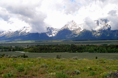 Teton Point Overlook