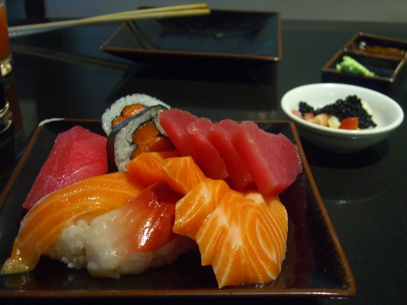 Sushi at Oishi Grand - Bangkok, Thailand