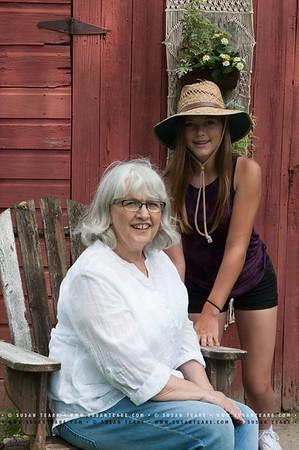 Grand Daughter Getaway Portraits