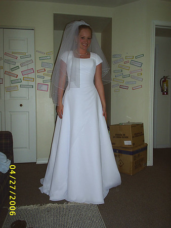 Andrea Kittler Reynolds Wedding Dress