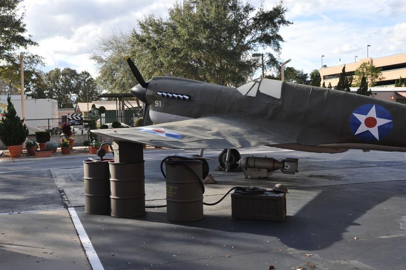 Pearl Harbor Movie Prop; Studio Backlot Tours