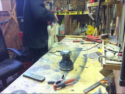 Stratocaster refinishing
