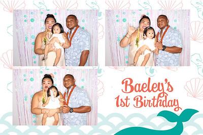 Baeley's 1st Birthday