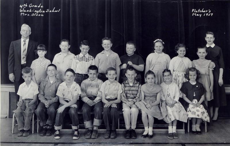 Washington 4th Grade Olson