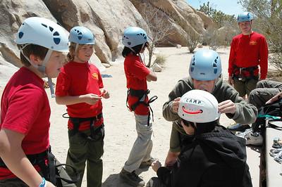 5/5/2007 - Rock Climbing @ JTNP