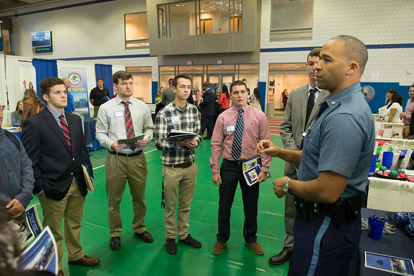 Criminal Justice Career Fair, Oct 2016