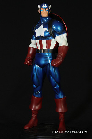 Bowen Designs Captain America Metallic Statue Web Exclusive