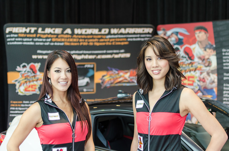 Booth-babes at E3 2012