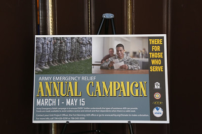 2018 Army Emergency Relief (AER) Annual Campaign Kick-Off