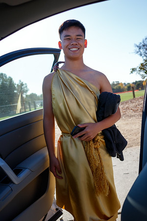 Andrew In His Toga