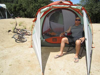 Henshaw Lake Camping - July 2010