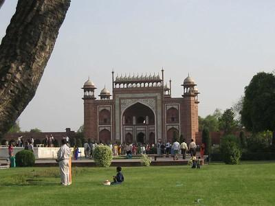 The beautiful Taj Mahal in Agra
