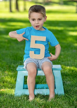 Weston Turns Five