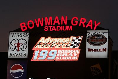 NWSMT Advance Auto Parts 199 Bowman Gray Stadium 8/2/08