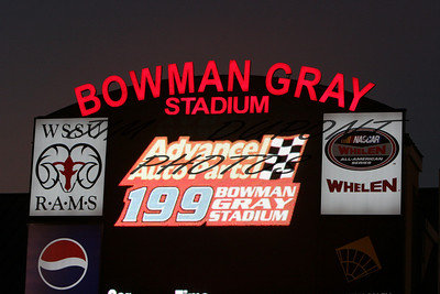 NWSMT Advance Auto Parts 199 Bowman Gray Stadium 8/2/08