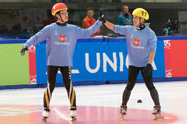 Speed Skating Unified Sports Experience 03-22-2017