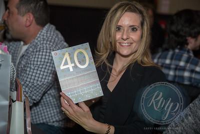 M Blotti 40th Birthday Event