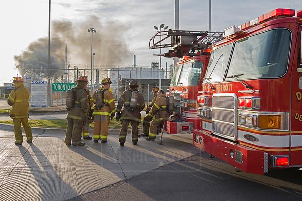 Detroit, MI - Hazmat Level 3 - 1300 S. Fort St. - April 27, 2013