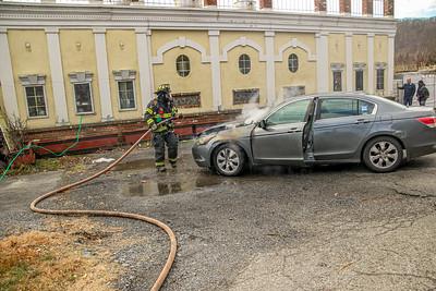 12-28-2020 Car Fire, Albany Post Road